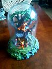 DISNEY WINNIE THE POOH  FRIENDS IN THE TREE GLASS DOME TOP FIGURINE 51 2 IN