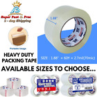 Clear Packing Tape 3.2mil Thick Heavy Duty Carton Industrial Commercial Moving