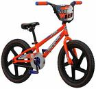 Mongoose Stun Kid's Freestyle BMX Bike with Kickstand 18-Inch Wheels Orange