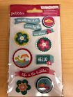 Pebbles Layered Stickers New