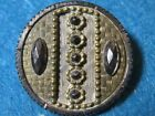Antique Buttons: Steel Cup with Brass and Steel