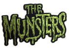 Authentic UNIVERSAL The Munsters Logo Embroidered Sew On Glue On Patch NEW
