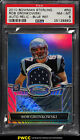 2010 Bowman Sterling Blue Refractor Rob Gronkowski RC AUTO PATCH 99 PSA 8(PWCC)