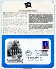 First Day of Issue Covers 2 Pennsylvania Statehood  US Constitution CM575