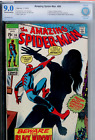 Amazing Spider-Man #86 CBCS 9.0 OW WHITE pages, New look BLACK WIDOW (like CGC)