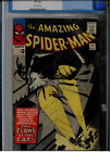 Amazing Spider-Man #30 CGC 8.0 OW pages; 1st app of The Cat