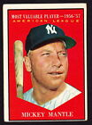 Comprehensive Guide to 1960s Mickey Mantle Cards 41