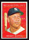 Comprehensive Guide to 1960s Mickey Mantle Cards 42
