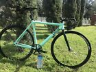 52CM Celeste Crew Track Pista Fixed Bike Miche Pistard Ceramic BB Factory Five