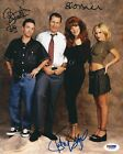 Ed O'Neill Katey Sagal D. Faustino Signed 'Married With Children' 8x10 Photo PSA