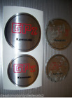 KAWASAKI GPZ GPZ750 TURBO GPZ 1100A GPZ750A  ENGINE COVER DECALS EMBLEMS