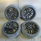 4x 20 Black Alloy Wheels 5x112