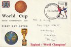 18 AUGUST 1966 WORLD CUP ENGLAND WINNERS CONNOISSEUR FIRST DAY COVER BIRMINGHAM