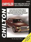 Repair Manual fits 1988-1995 Plymouth Acclaim Sundance  CHILTON BOOK COMPANY