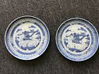 Pair of Antique Chinese blue and white Porcelain Plate