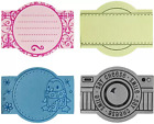 Fiskars Rubber Stamps EXPANSION PACK FOUR LETTER PLATES Scrapbooking