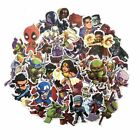 50 Pcs Lot Stickers Avengers Super Hero For Car Laptop Skatboard Decal Vinyl Art