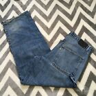 VTG 90s Levis SilverTab Carpenter Denim Jeans Loose Baggy Mens Measures 34x30