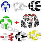 CRF70 Plastics Fairing + Decal Sticker Thumpstar Baja 110cc-160cc Dirt Pit Bike