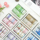 10Rolls pack Washi Tape DIY Decorative Scrapbooking Paper Adhesive Sticker Craft