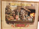 2000 Grandeur Noel 10 Pc Collector Edition Nativity Set  Creche Complete In Box