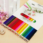 24 Colors Fabercastell Colored Pencils Water-color Drawing Set Stationery