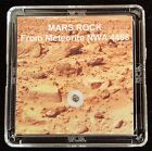 DELUXE EDITION AUTHENTICATED MARTIAN METEORITE 12mg Mars Rock Display+Easel l
