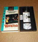 Weekend VHS 1991 Jean Luc Godard NEW YORKER VIDEO