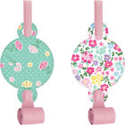 Floral Tea Party Party Blowers