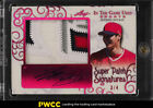 2018 Leaf In The Game Magenta Shohei Ohtani ROOKIE RC AUTO SUPER PATCH 4 (PWCC)
