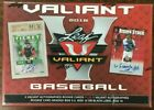 2018 Leaf Valiant Baseball Factory Sealed Box 5 Autos with 1 Graded 9.5+ New