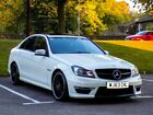LARGER PHOTOS: Mercedes C63 AMG 2013 Pearlescent white L@@K