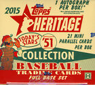 2015 TOPPS HERITAGE '51 COLLECTION BASEBALL HOBBY BOX FACTORY SEALED NEW