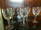 Set of 6 WATERFORD Colleen 7 Water Goblets Glasses Ireland Excellent