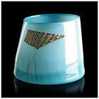 Dale Chihuly Rare Original Blue Blanket Cylinder Hand Blown Glass Signed Artwork