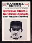 Christy Mathewson Cards and Autograph Guide 15