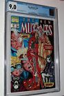 New Mutants #98 CGC 9.0 VF NM - WHITE PAGES - 1st Deadpool Gideon Domino