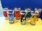 – 1950s Circus Drinking Glasses