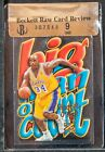 1996-97 Skybox Z-Force big men on court Shaquille O'Neal bgs 9 RCR die-cut