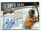 Jose Reyes 2003 Futures Game Auto Autograph Game-Used Base Prospect Mets