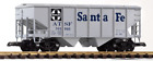 Piko Santa Fe Covered Hopper Car 38835 G Scale Model Trains