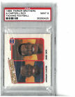 1989 Parker Brothers Bros Talking Football Jerry Rice, Anthony Carter PSA 9