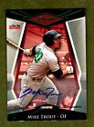 2011 Tristar Pursuit #1 Mike Trout Auto Pre RC Ser#16 25 FOR THE RECORD ONLY 25