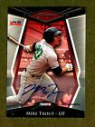 2011 Tristar Pursuit #1 Mike Trout Auto Pre RC Ser#24 50 FOR THE RECORD ONLY 50