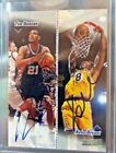 1998-99 TOPPS CO-SIGNERS KOBE BRYANT AND TIM DUNCAN DUAL AUTOGRAPH L@@K AUTO