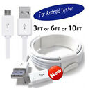 1 3M Micro USB Fast Rapid Charger Charging Data Sync Cord Cable For HTC