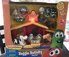 VeggieTales Nativity Play Set Angel Lights Up Music Ages 3+ Brand New In Box