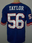 LAWRENCE TAYLOR #56 NEW YORK GIANTS AUTOGRAPHED NFL JERSEY MEN SIZE 48
