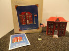 Hallmark Schoolhouse and Flagpole Town and Country Keepsake Ornament 2003