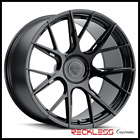 BLAQUE DIAMOND 20 BD F18 BLACK CONCAVE WHEEL RIMS FITS VOLKSWAGEN PHAETON